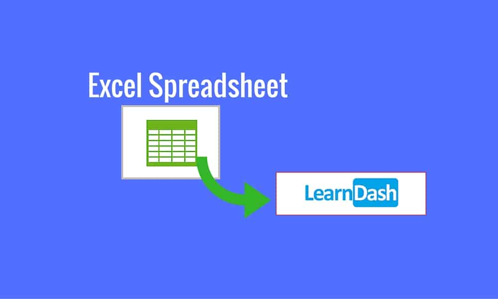 excel to learndash import plugin