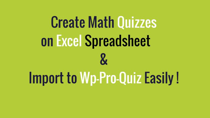 import-math-quiz-on-excel-spreadsheet-to-wp-pro-quiz