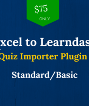 excel to learndash -standard