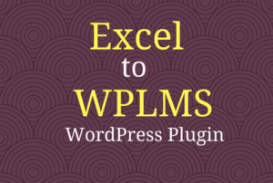 excel to wplms wordpress plugin