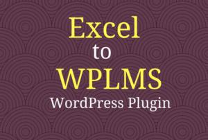 excel to wplms wordpress plugin