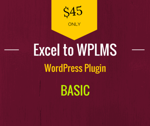 excel to wplms question bank