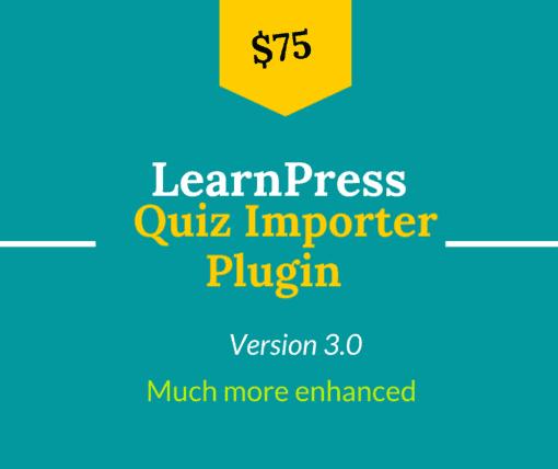 learnpress quiz import