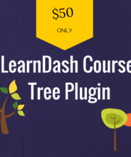 learndash course tree plugin