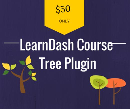 learndash course tree plugin