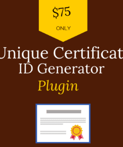 learndash unique certificate id