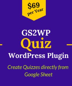 gs2wp quiz plugin