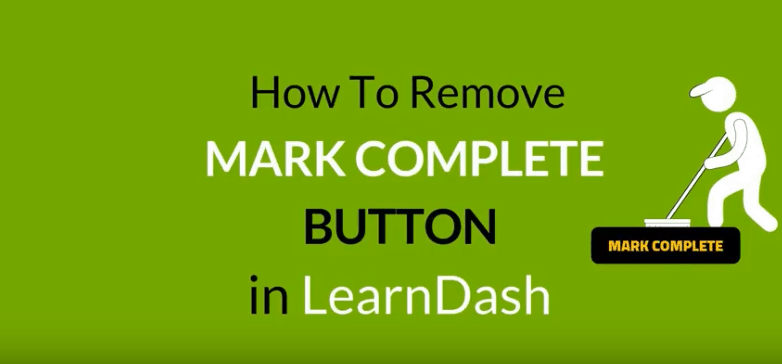 mark complete button