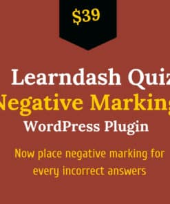 learndash quiz negative marking