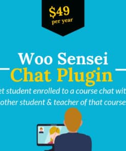 woo sensei chat plugin
