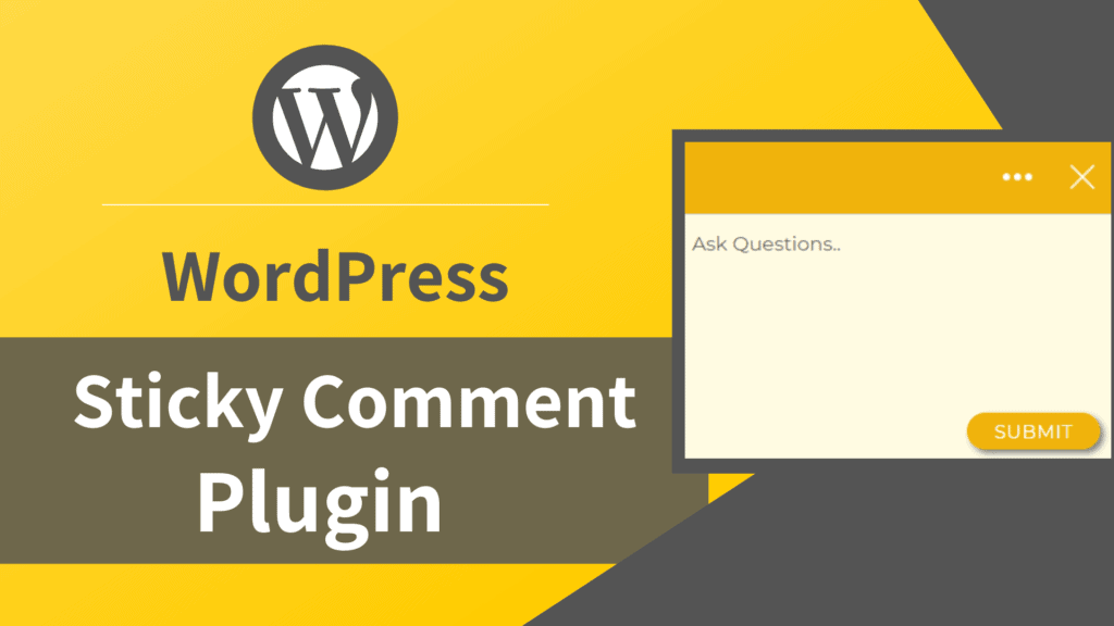 wordpress comment plugin