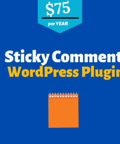 sticky comment wordpress plugin