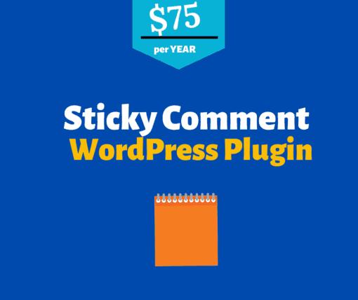 sticky comment wordpress plugin