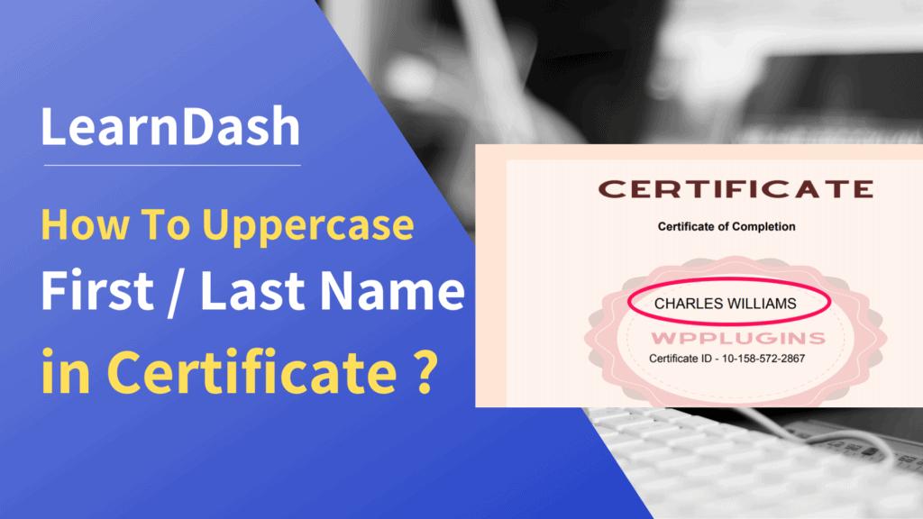 learndash course certificate