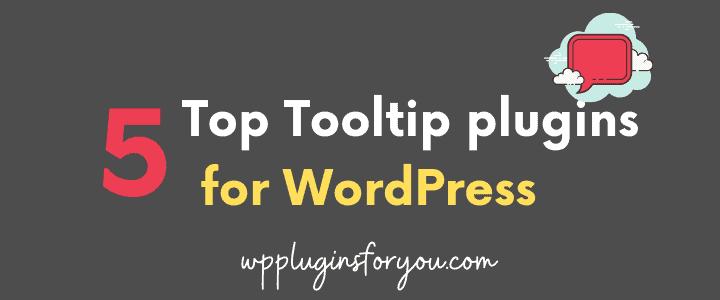 five tool tip plugins