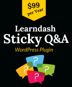 learndash sticky q&a