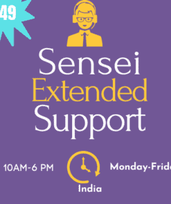sensei lms support