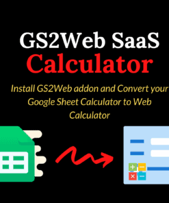 GS2Web SaaS Calculator