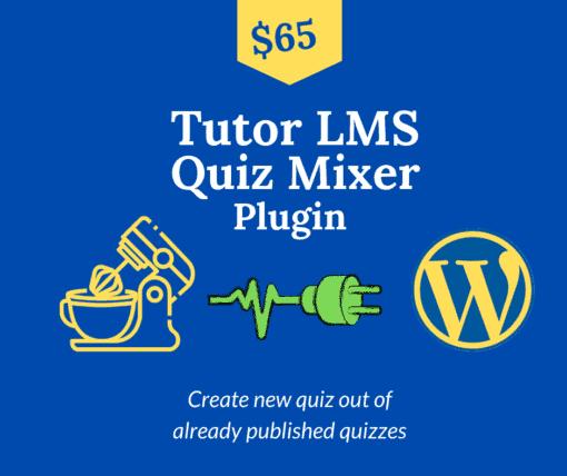 tutor lms quiz